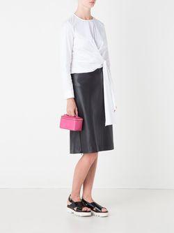 Чемоданчик Для Косметики С Логотипом Chanel Vintage                                                                                                              розовый цвет