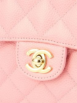 Сумка На Плечо С Цепочной Лямкой Chanel Vintage                                                                                                              розовый цвет