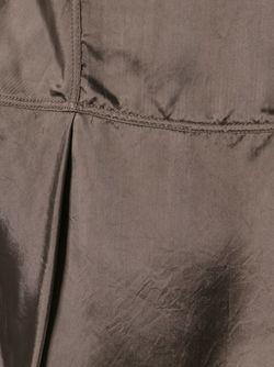 Драпированное Платье Rick Owens                                                                                                              коричневый цвет