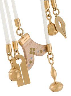 Веревочное Ожерелье Janis Chloe                                                                                                              белый цвет