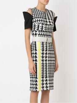 Panelled Dress GLORIA COELHO                                                                                                              белый цвет