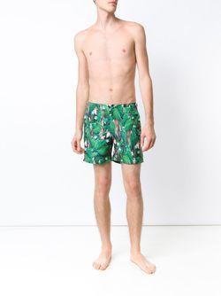 Шорты Для Плавания Bulldog Orlebar Brown                                                                                                              зелёный цвет
