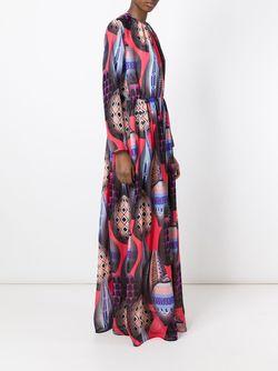 Платье С Принтом Воздушных Шаров MSGM                                                                                                              многоцветный цвет