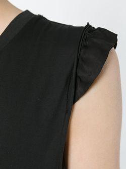 Длинное Платье Без Рукавов ANDREA YA'AQOV                                                                                                              черный цвет