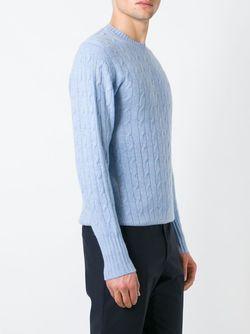 Свитер The Thames N.PEAL                                                                                                              синий цвет