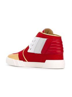 The Shark 2.0 Sneakers Giuseppe Zanotti Design                                                                                                              красный цвет