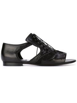 Броги С Вырезными Деталями Givenchy                                                                                                              чёрный цвет