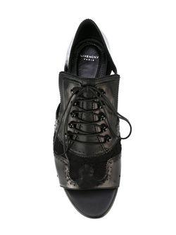 Броги С Вырезными Деталями Givenchy                                                                                                              черный цвет