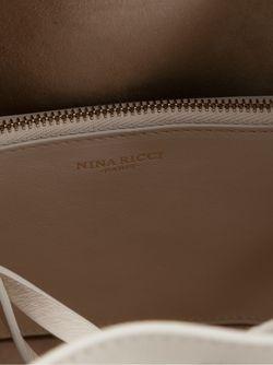 Сумка-Мешок Через Плечо Nina Ricci                                                                                                              белый цвет