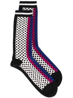 Autobahn Socks Henrik Vibskov                                                                                                              многоцветный цвет