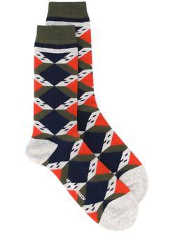 Scout House Socks Henrik Vibskov                                                                                                              серый цвет