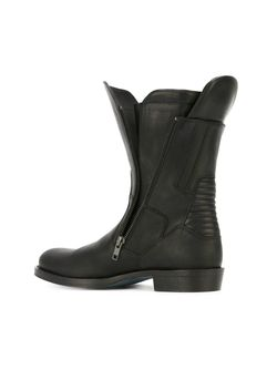 Байкерские Ботинки На Молнии Ann Demeulemeester                                                                                                              черный цвет