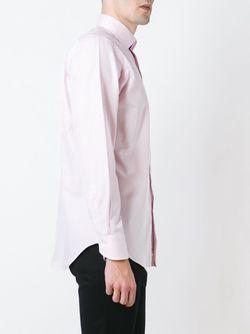 Классическая Рубашка Canali                                                                                                              розовый цвет