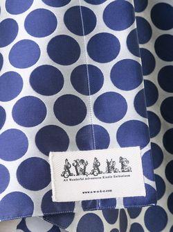 Пальто Без Рукавов В Горох Awake                                                                                                              синий цвет