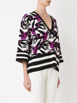 Pattern Sweater Gig                                                                                                              розовый цвет