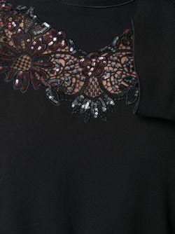 Платье С Декорированный Вырезом Marc Jacobs                                                                                                              чёрный цвет
