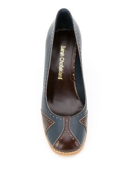 Leather Pumps Sarah Chofakian                                                                                                              синий цвет