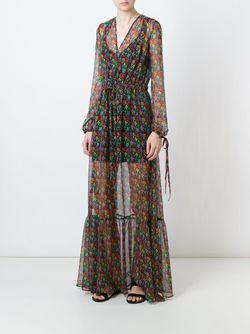 Платье С Цветочным Принтом Au Jour Le Jour                                                                                                              чёрный цвет