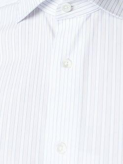Рубашка В Полоску Canali                                                                                                              белый цвет