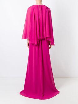 Плиссированное Платье MSGM                                                                                                              розовый цвет