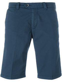 Классические Шорты-Бермуды Corneliani                                                                                                              синий цвет