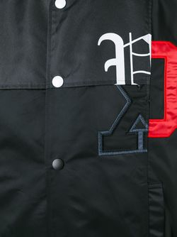 Куртка-Бомбер С Логотипом FACETASM                                                                                                              черный цвет