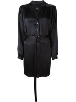 Удлиненная Блузка Ann Demeulemeester                                                                                                              чёрный цвет