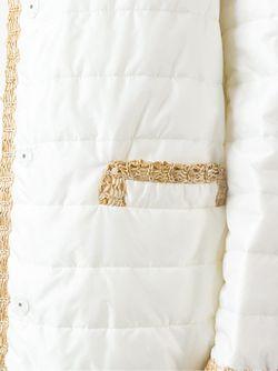 Стеганое Пальто Ermanno Scervino                                                                                                              белый цвет