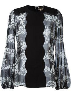 Блузка С Принтом Giambattista Valli                                                                                                              чёрный цвет