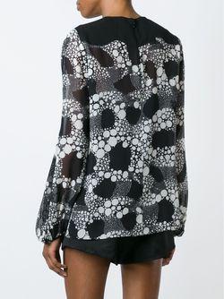 Блузка С Принтом Giambattista Valli                                                                                                              черный цвет