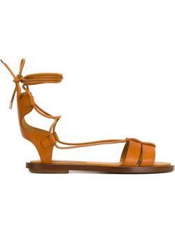 Сандалии Renny Ralph Lauren                                                                                                              коричневый цвет