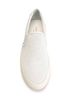 Перфорированные Кеды-Слипон Common Projects                                                                                                              белый цвет