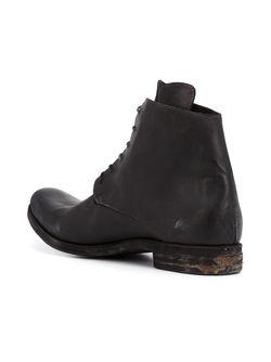 Ботинки С Потертой Отделкой A DICIANNOVEVENTITRE                                                                                                              черный цвет