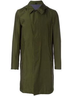 Двухсторонний Тренч Jil Sander                                                                                                              зелёный цвет
