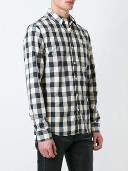 Рубашка В Клетку Pierre Balmain                                                                                                              черный цвет