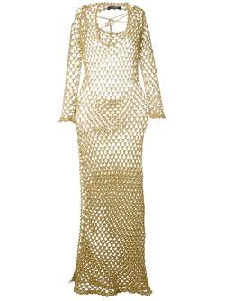 Ажурное Платье Sibling                                                                                                              белый цвет