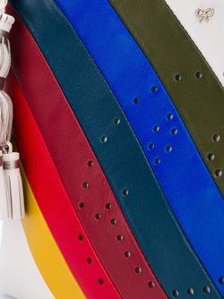 Клатч В Радужную Полоску Georgiana Anya Hindmarch                                                                                                              многоцветный цвет