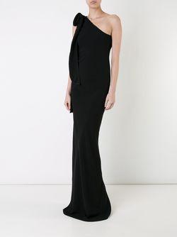 Длинное Платье Bias Gareth Pugh                                                                                                              черный цвет