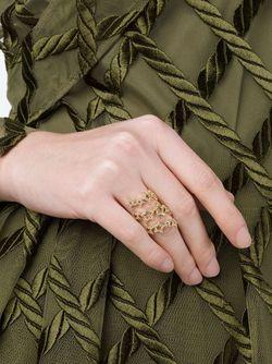 Кольцо-Спираль Со Звездами ROSA DE LA CRUZ                                                                                                              серебристый цвет