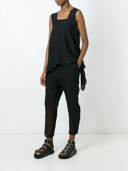 Укороченные Брюки Lost & Found Ria Dunn                                                                                                              чёрный цвет