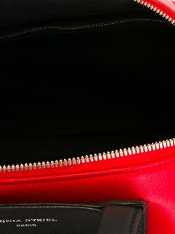 Объемная Сумка-Тоут С Бахромой Sonia Rykiel                                                                                                              красный цвет