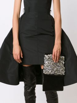 Декорированный Клатч Vera Wang                                                                                                              чёрный цвет