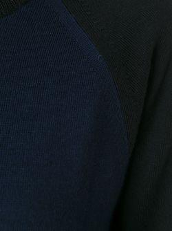 Свитер С Круглым Вырезом T By Alexander Wang                                                                                                              синий цвет