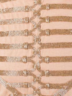 Декорированный Топ Balmain                                                                                                              Nude & Neutrals цвет