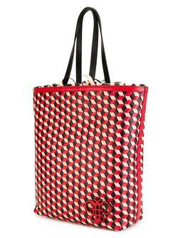 Сумка На Плечо С Геометрическим Принтом Emilio Pucci                                                                                                              красный цвет