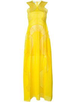 Платье Valerie Stella Mccartney                                                                                                              желтый цвет