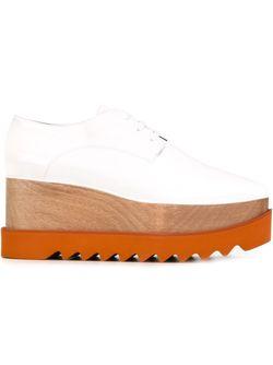 Туфли Со Шнуровкой Elyse Stella Mccartney                                                                                                              белый цвет