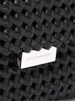 Маленькая Плетеная Сумка Soft Beckett Stella Mccartney                                                                                                              черный цвет