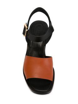 Босоножки Колор-Блок Marni                                                                                                              чёрный цвет