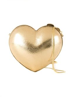 Heart Clutch SERPUI                                                                                                              серебристый цвет